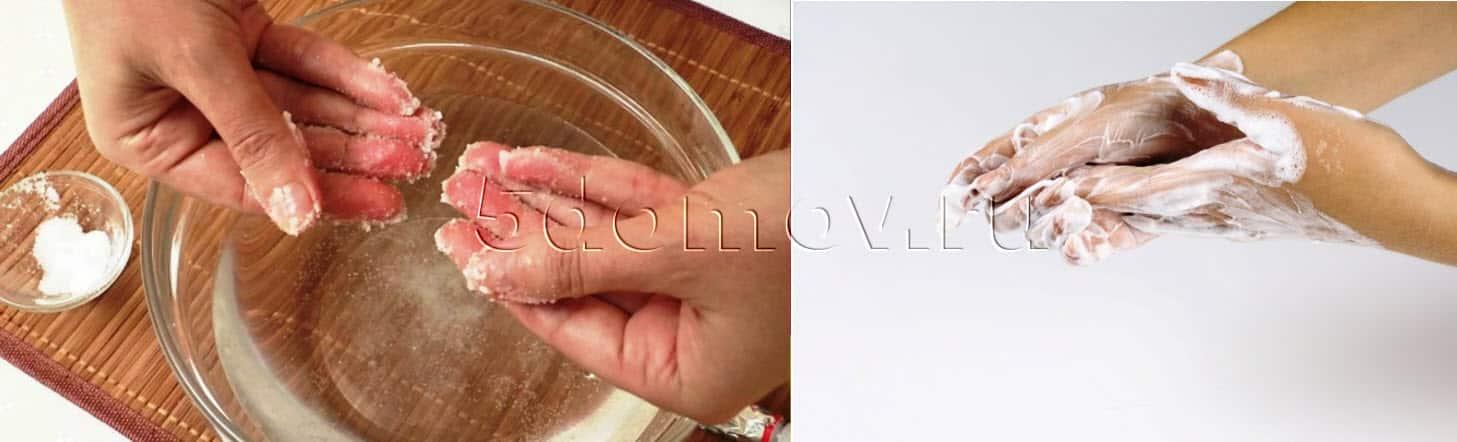 Чем можно отмыть монтажную пену с рук