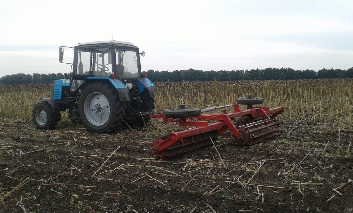 Использование пожнивных остатков | Как можно защитить почву от выдувания ветром