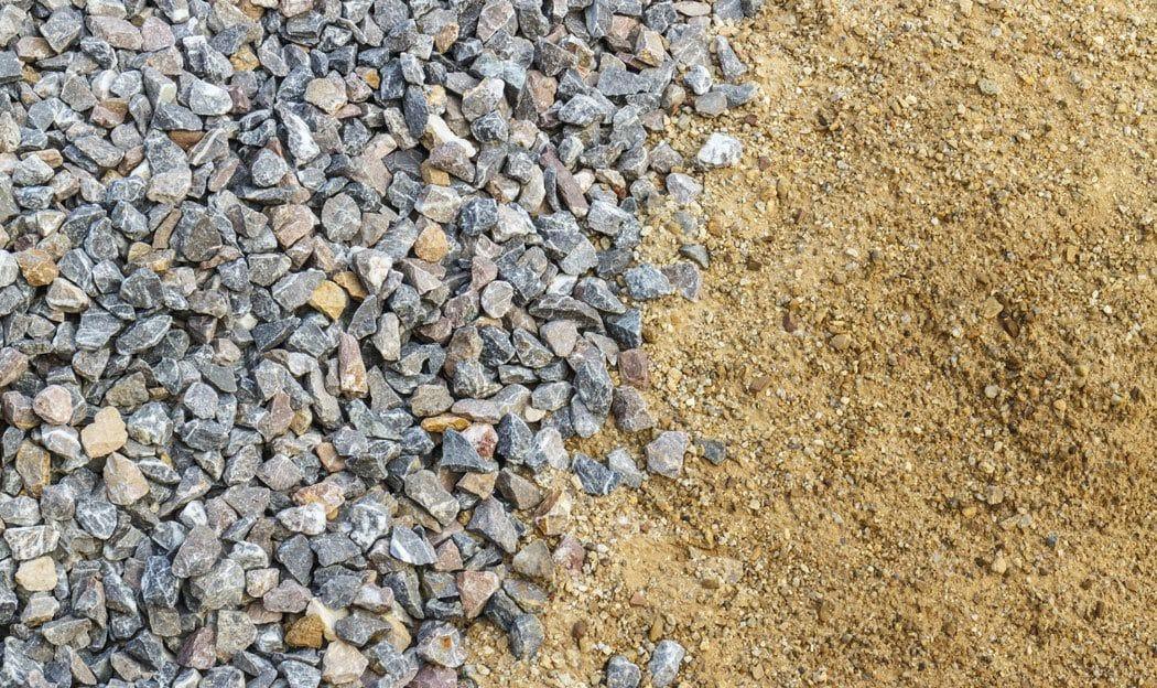 Укладка дорожки из песка и щебня | Как рассчитать объем (количество) щебня