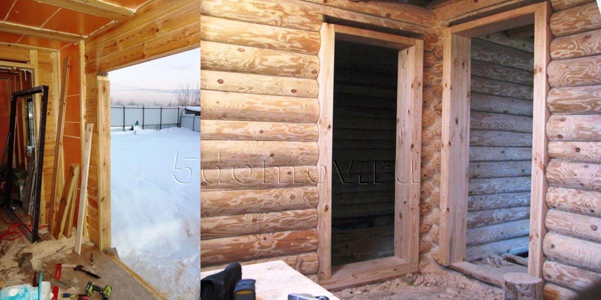 Как уменьшить дверной проем брусом | Как уменьшить дверной проем: по ширине, по высоте, гипсокартоном, брусом, кирпичом
