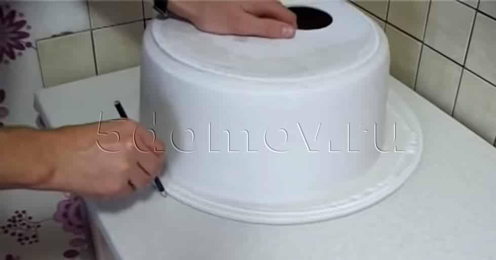 Как вырезать столешницу под мойку | Как в столешнице вырезать отверстие под мойку