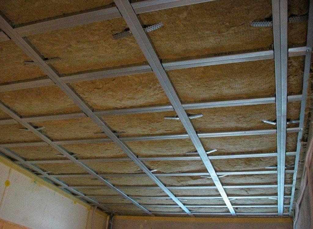 Утепление потолка снизу | Какой плотности должен быть утеплитель