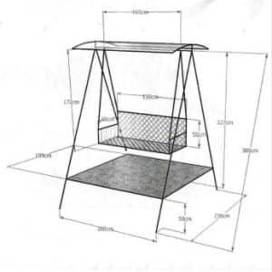 Расчеты материалов | Скамейка из профильной трубы своими руками