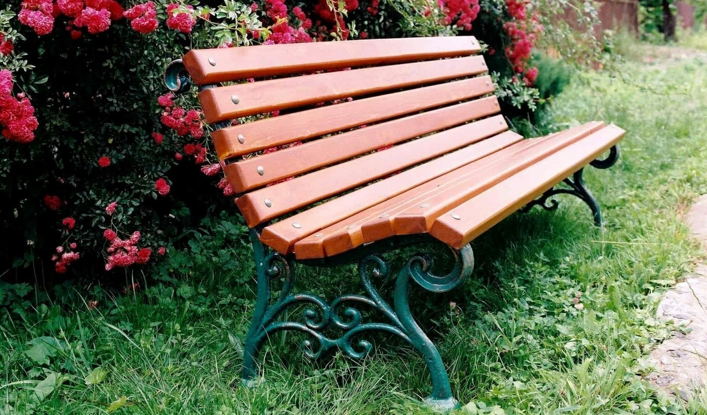 Защитное покрытие скамейки | Скамейка из профильной трубы своими руками