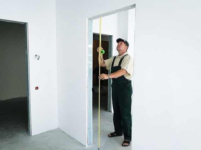 Габариты дверных коробок | Как установить межкомнатную дверь без порога