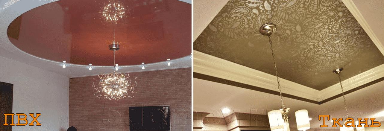 Из какого материала делают натяжные потолки | Как помыть глянцевый натяжной потолок без разводов в домашних условиях