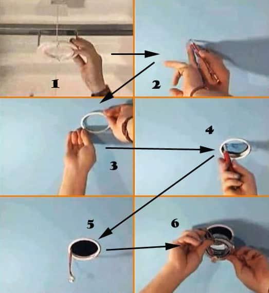 Осветительные приборы | Установка тканевых натяжных потолков: пошаговая инструкция монтажа своими руками