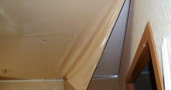 Как снять натяжной потолок своими руками — пошаговая инструкция с фото и видео