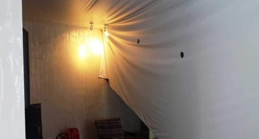 Важные аспекты демонтажа натяжного полотна | Как снять натяжной потолок своими руками