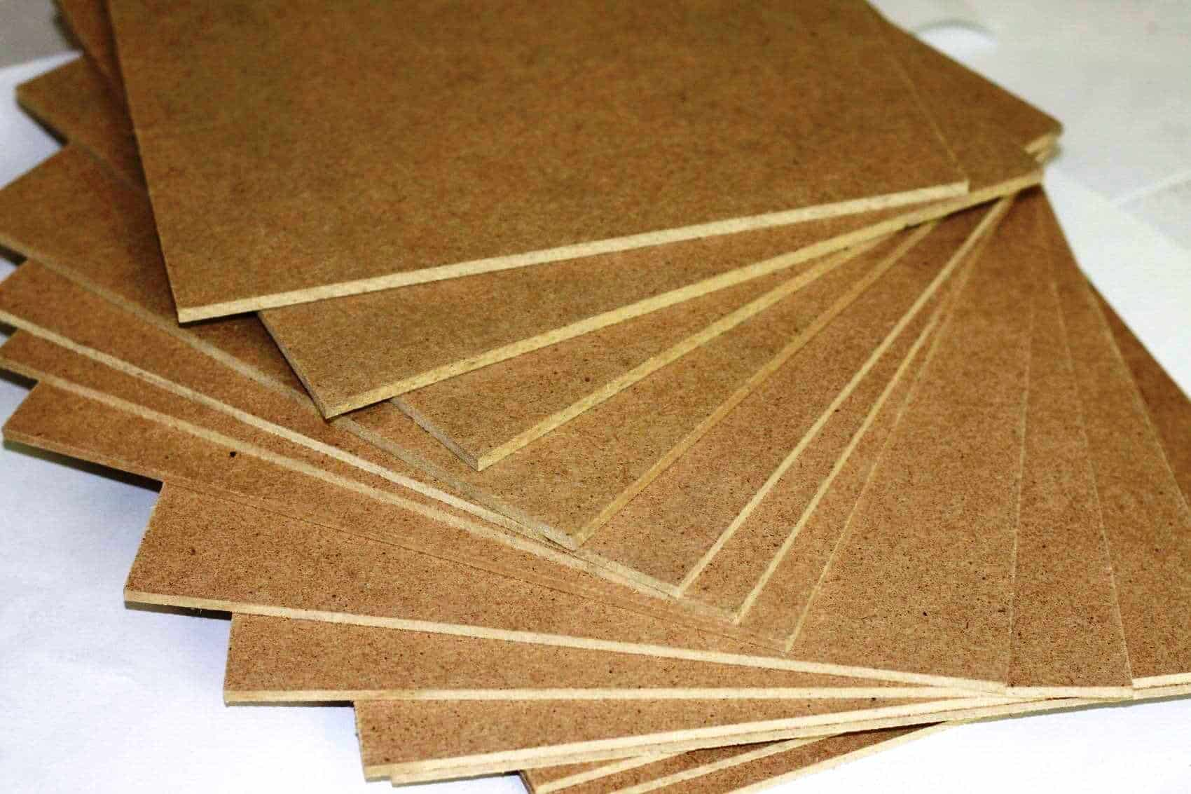 Звукоизоляция из древесноволокнистых плит