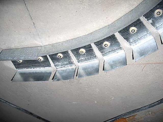 Как сделать каркас для фигурного короба | Короб из гипсокартона на потолке под натяжной потолок