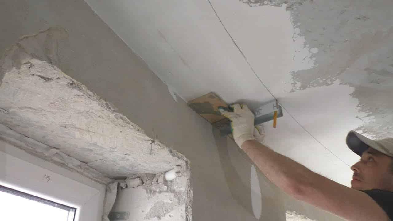 Разметка потолка под гипсокартон | Короб из гипсокартона на потолке под натяжной потолок