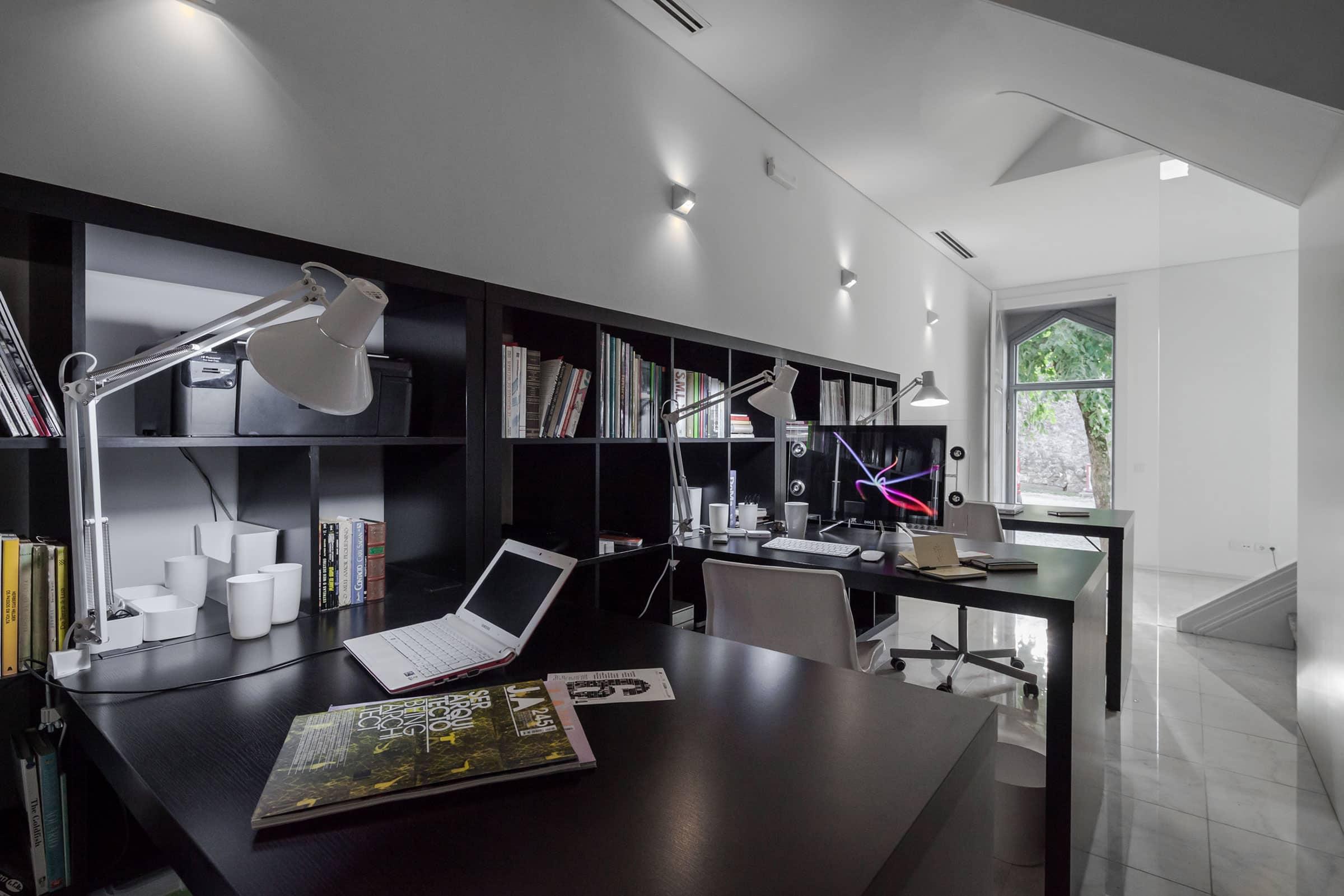 Осветительные приборы | Расположение светильников в кабинете