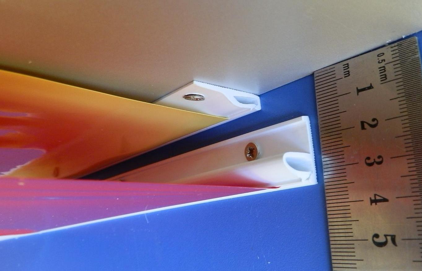 От чего зависит высота натяжных потолков | На сколько опускается натяжной потолок, как уменьшить его высоту