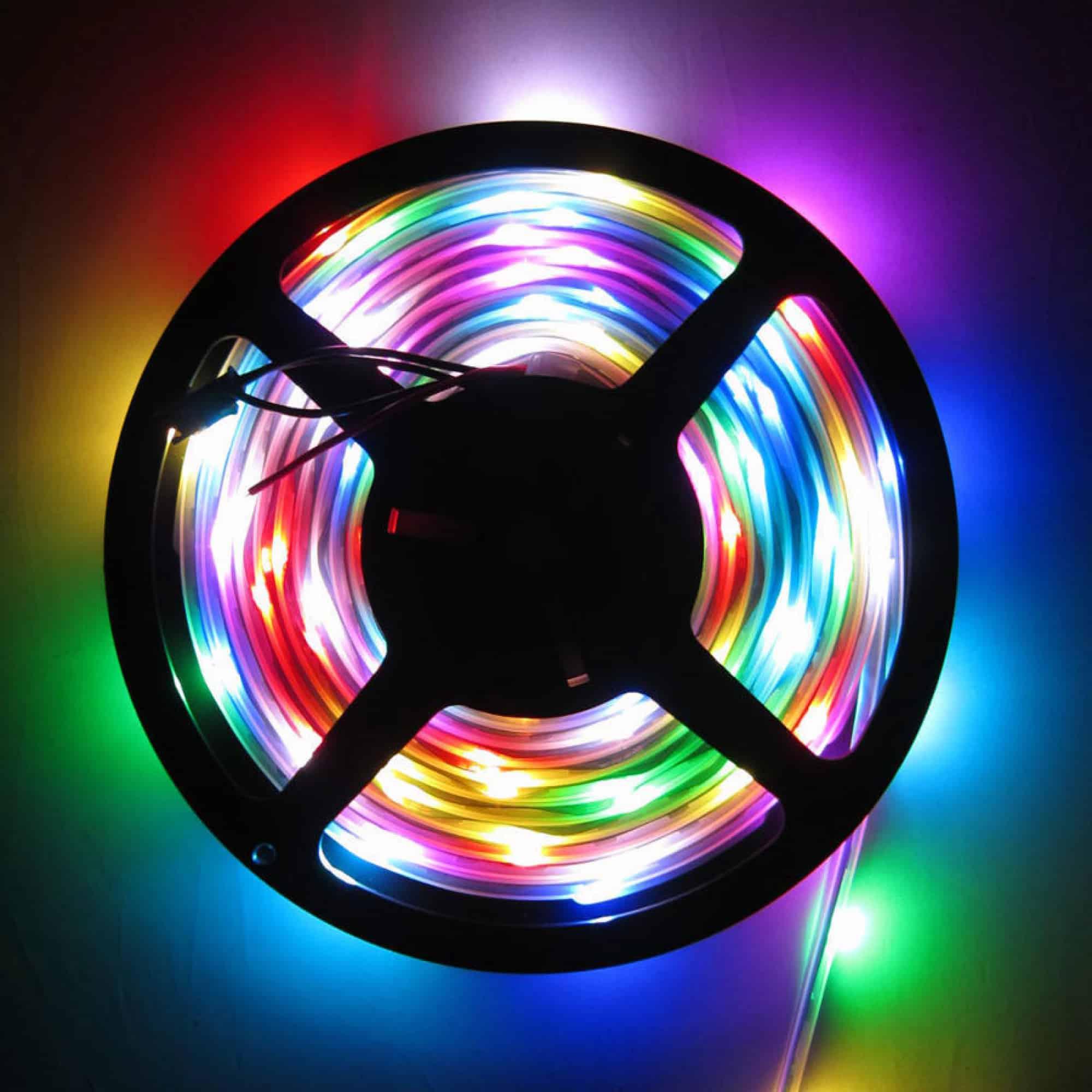 Виды светодиодных лент | Светодиодная лента под натяжным потолком