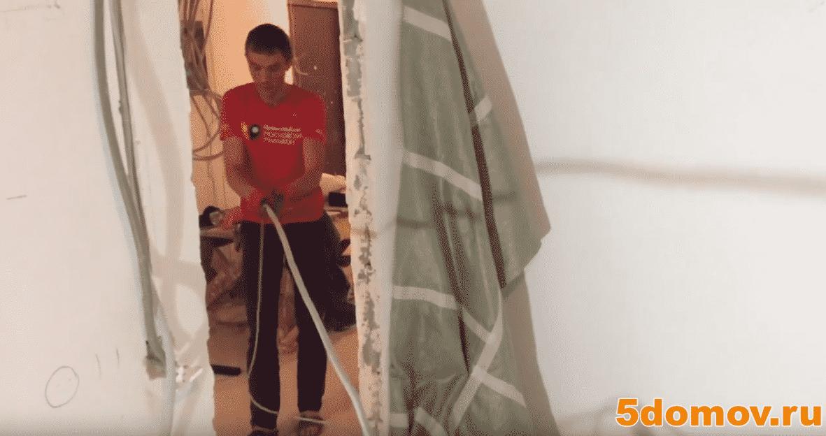 Как протянуть кабель в гофру с зондом — пошаговая инструкция | Как протянуть кабель в гофру с проволокой и без проволоки