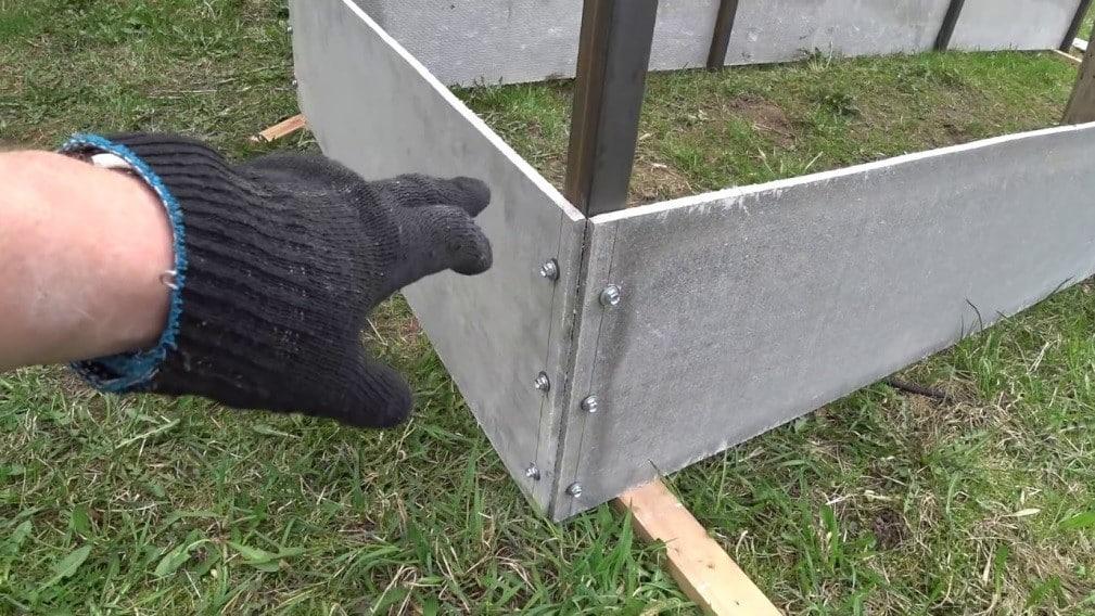 Как сделать грядки из плоского шифера своими руками